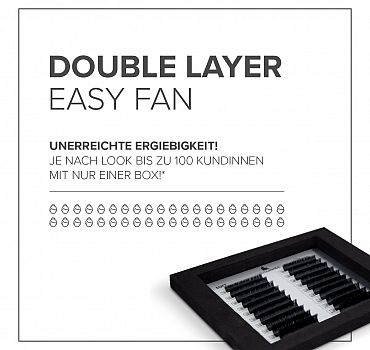 Luxuslashes Double layer Easy Fan